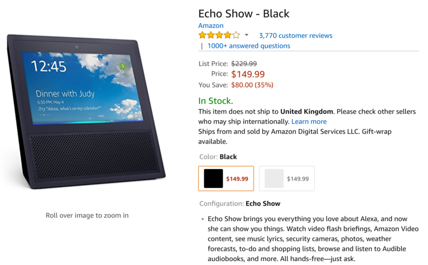 Deal: Save $80 on Echo Show, 4K Fire TV for $54 and more savings on Amazon devices
