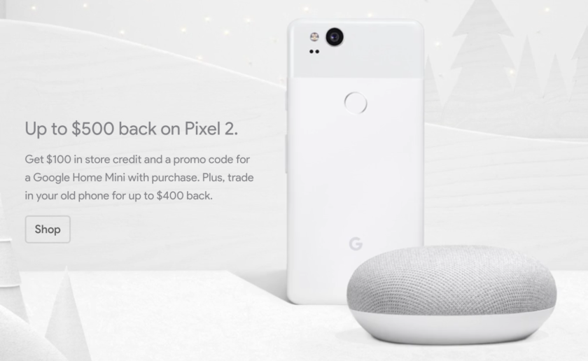 Deal: Save up to $500 on Pixel 2 or Pixel 2 XL plus free Home Mini at Google Store