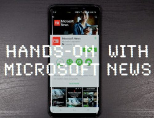 Hands-on with the Microsoft News app on Android