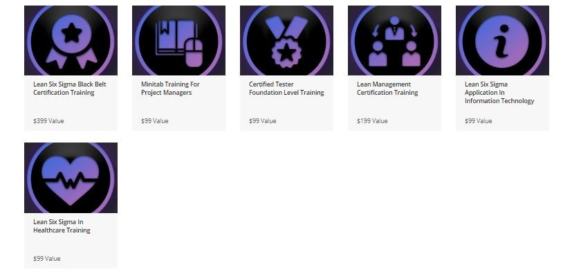 Lean Six Sigma Black Belt Master Certification Bundle