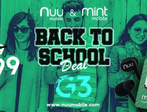 Back to School: NUU Mobile G3 Deal for $199