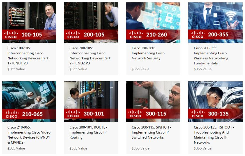 Cisco certification super bundle
