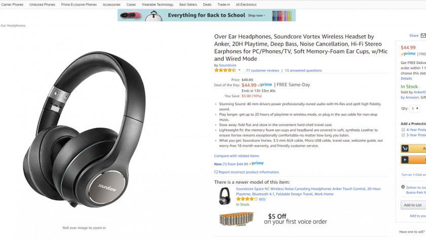 Deal: Take 35 percent off select Anker Soundcore wireless headphones and speakers