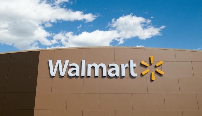 Walmart store photograph.