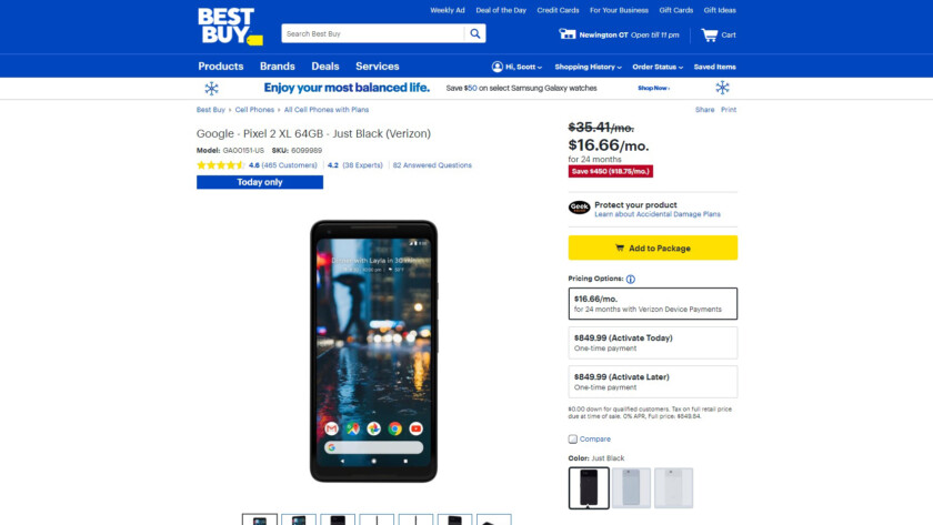 Deal: Best Buy offering some heavily-discounted tech this weekend