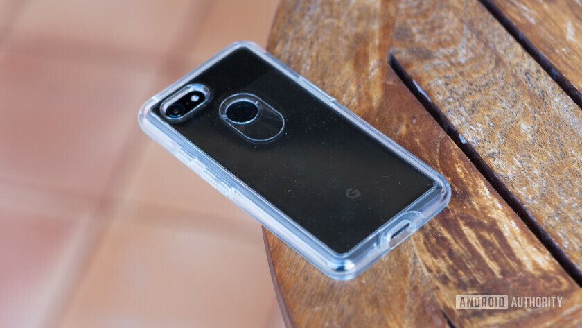Otterbox Symmetry clear case for Pixel 3