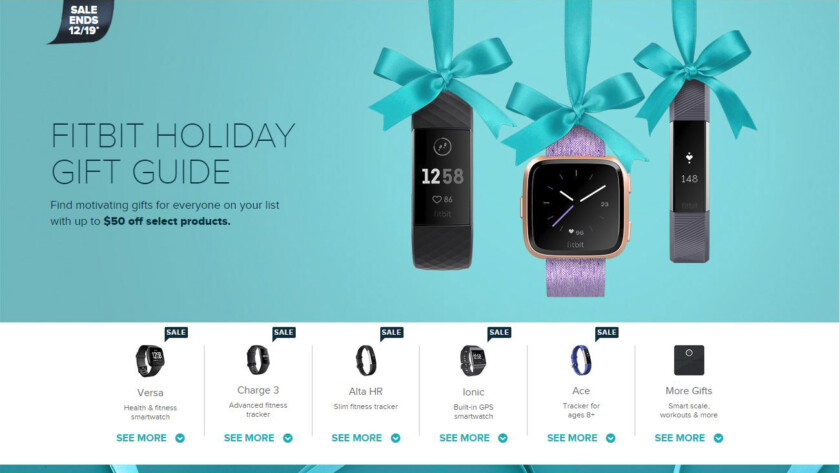 Deal: Take up to $50 off of almost every Fitbit