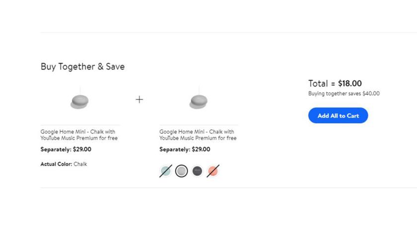 Google Home Mini Sale Walmart