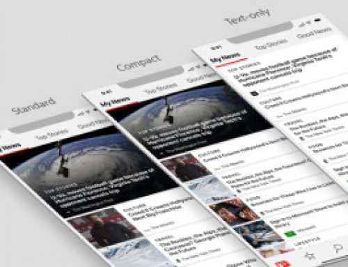 Microsoft News app now lets you pick a news feed layout on mobile devices