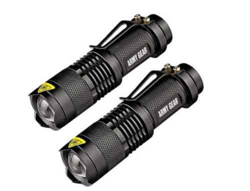 Military-grade flashlights down from $100 to $20