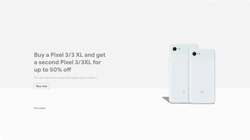 Deal: BOGO Pixel 3 deal, $599 Pixel 2 XL, and more for Google Store's President's Day sale