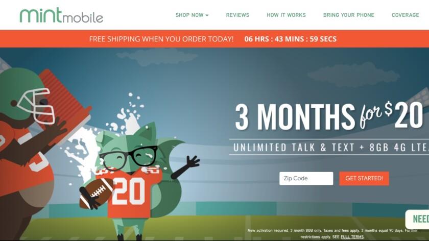 Mint Mobile Super Bowl Deal