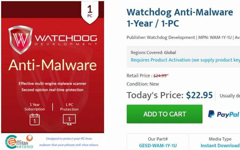Watchdog Anti-Malware