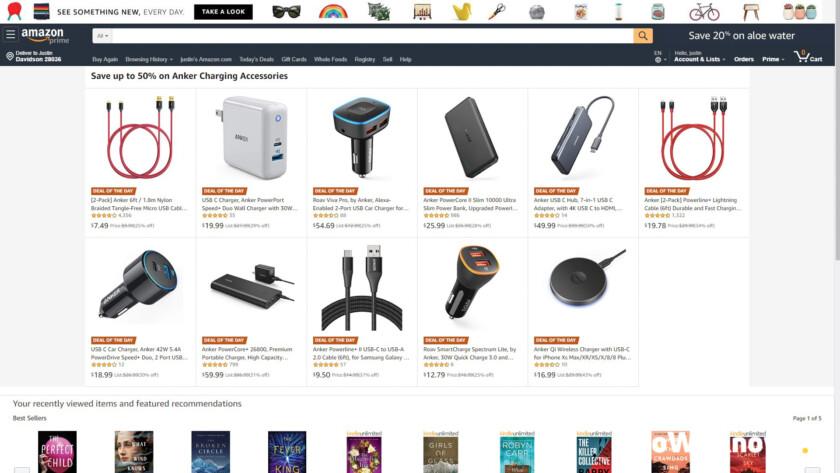 Anker Amazon Featured Deals