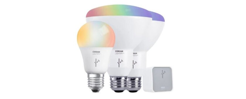 Price drop! Save 78% on the Lightify Starter Kit for your smart home