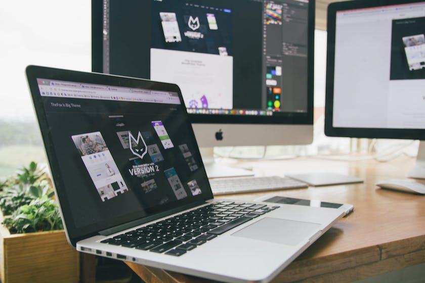 Laptop Graphic Design