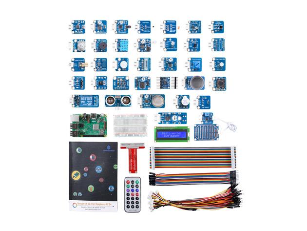 Raspberry Pi 3B+ and 37 Sensors Starter Kit
