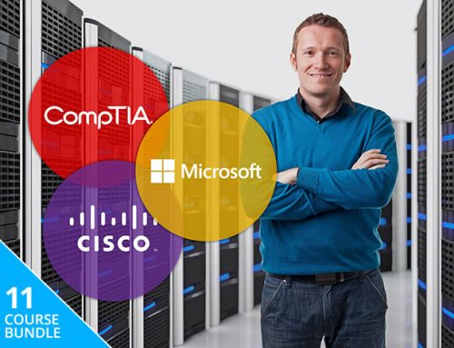 Become a certified IT professional on your own time for less than $40