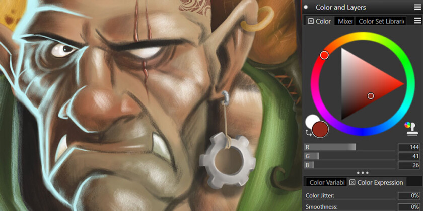 Take your digital artwork to the next level with Corel Painter 2019