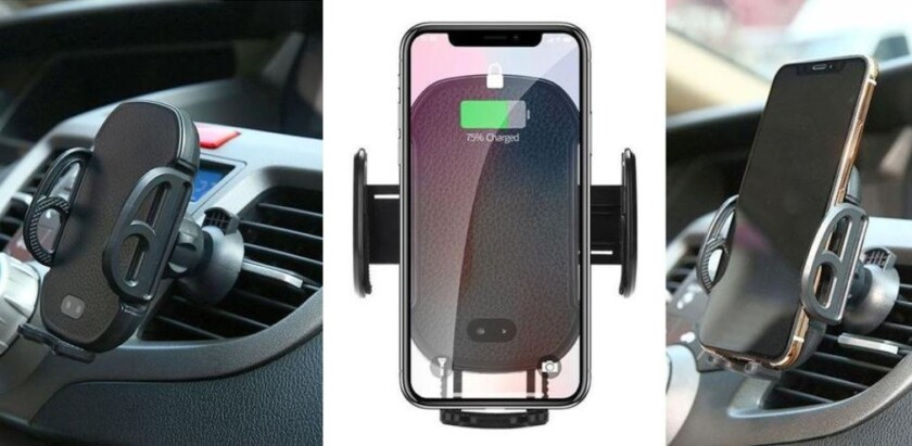 Automatic Qi Wireless Car Charger