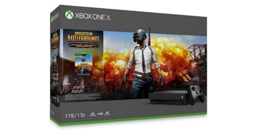Xbox One X PUBG