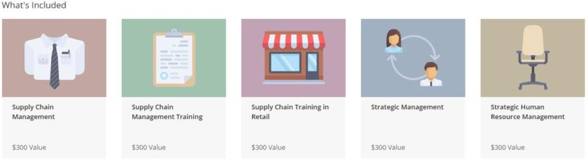 Supply Chain and Strategic Management Bundle What's Included