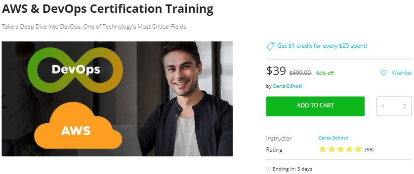 Best deals on AWS and DevOps Training