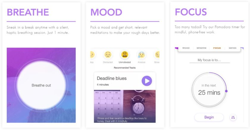 MindFi Mindfulness Screenshots