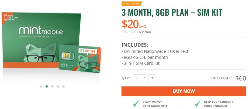Mint Mobile cheap phone plans