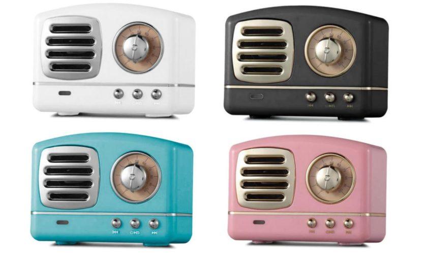 Retro Bluetooth Speaker Colors