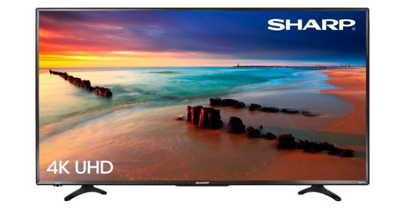 Sharp 43-inch 4K UltraHD Smart TV 2