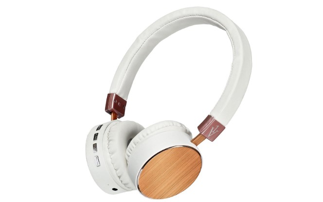 1VX Over-Ear Bluetooth Headphones Gold