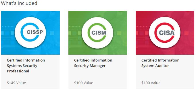 Information Security Certification Training Bundle Courses