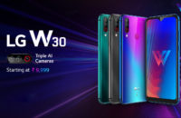 The LG W30 is part of the LG W series.