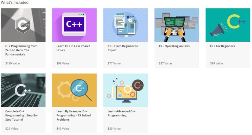 The Complete C++ Programming Bundle What's Included