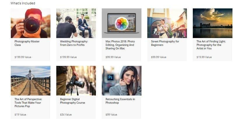 The Complete Photography Professional Bundle