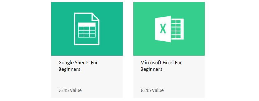 The Excel and Google Sheets Mastery Bundle