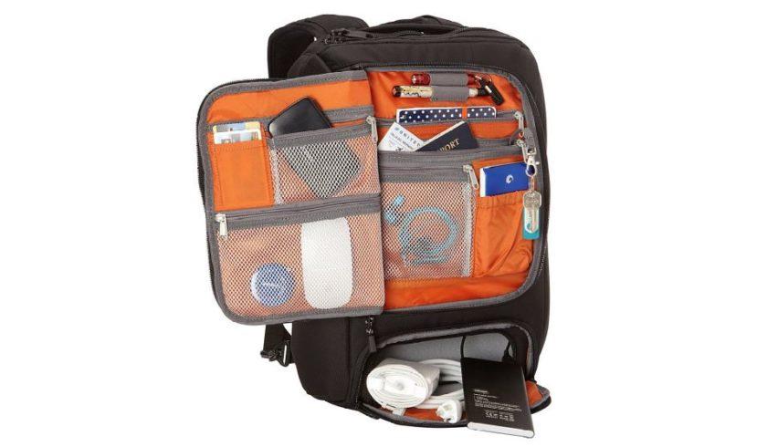 eBags Professional Slim Laptop Backpack Inside