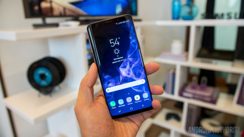The Samsung Galaxy S9 from Sprint