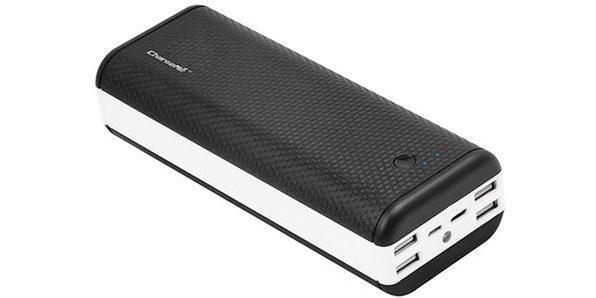ChargeMe Portable High Capacity Dual Input Power Bank (40,000 mAh)