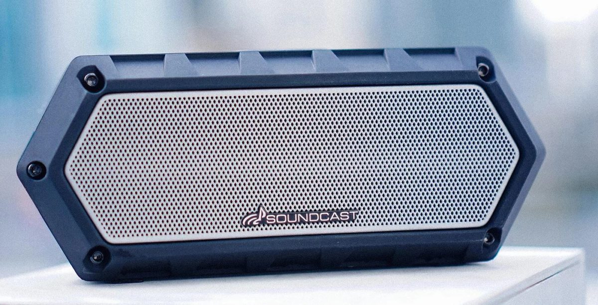 Soundcast VG1 Waterproof Bluetooth Speaker Wide