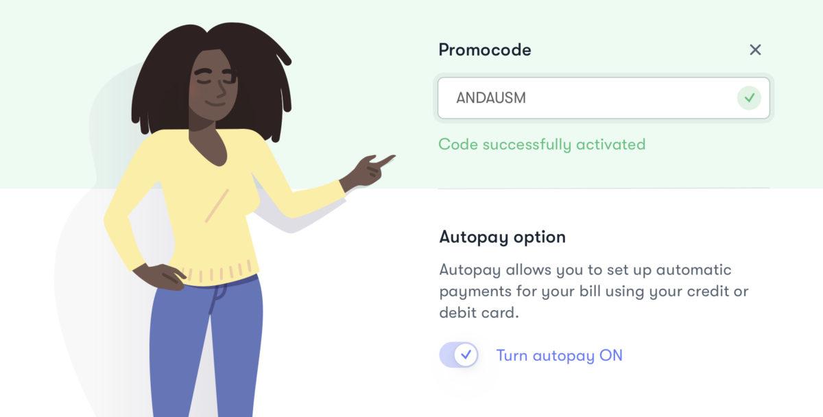 US Mobile promo code checkout