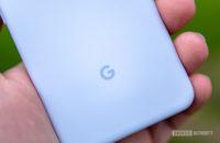 Google Pixel 3a Purple-ish Google Logo