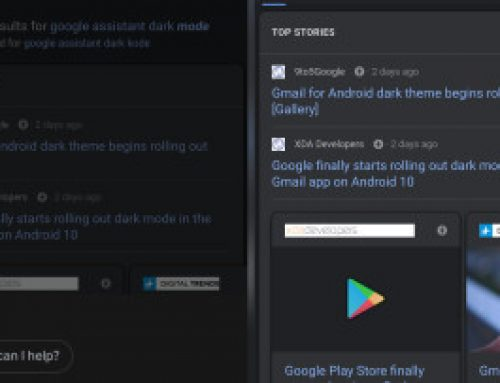 Dark mode for the Google App and Assistant starts rolling out