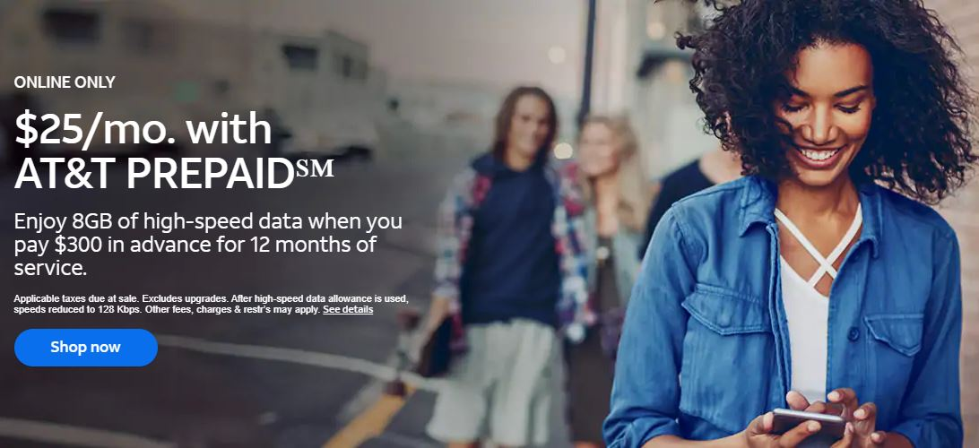 AT&T Deal Prepaid promo plan