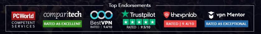 Ivacy VPN Endorsements
