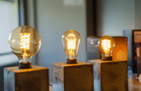 Philips Hue Filament Bulbs all sizes closeup 1