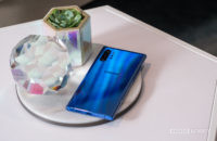 Samsung Galaxy Note 10 Plus Aura Blue back on table