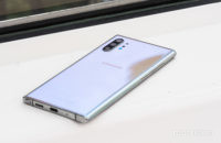Samsung Galaxy Note 10 Plus back at angle