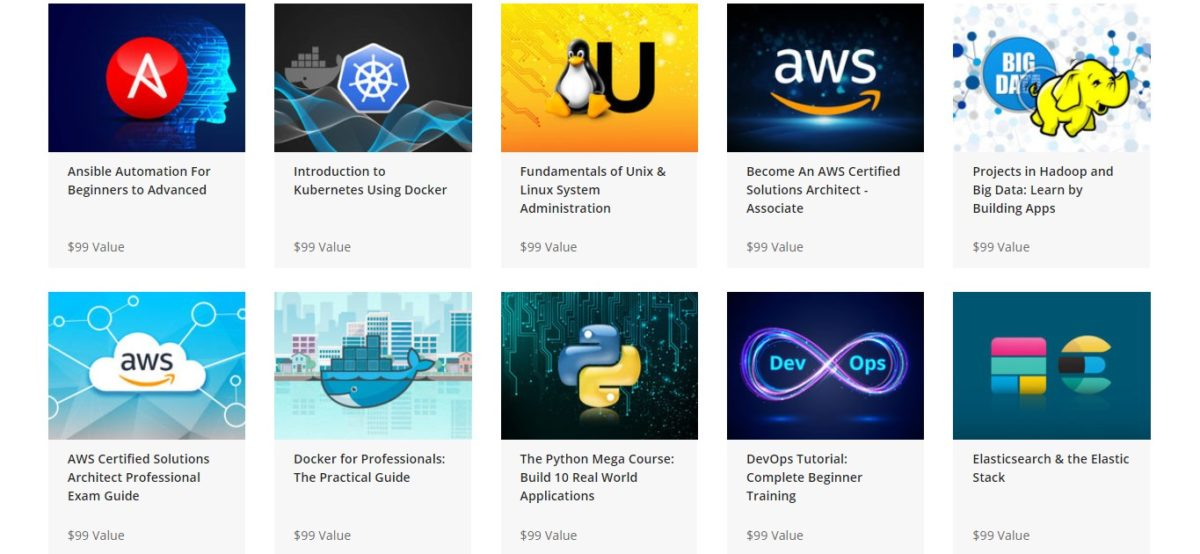 The DevOps Masterclass Lifetime Bundle Courses
